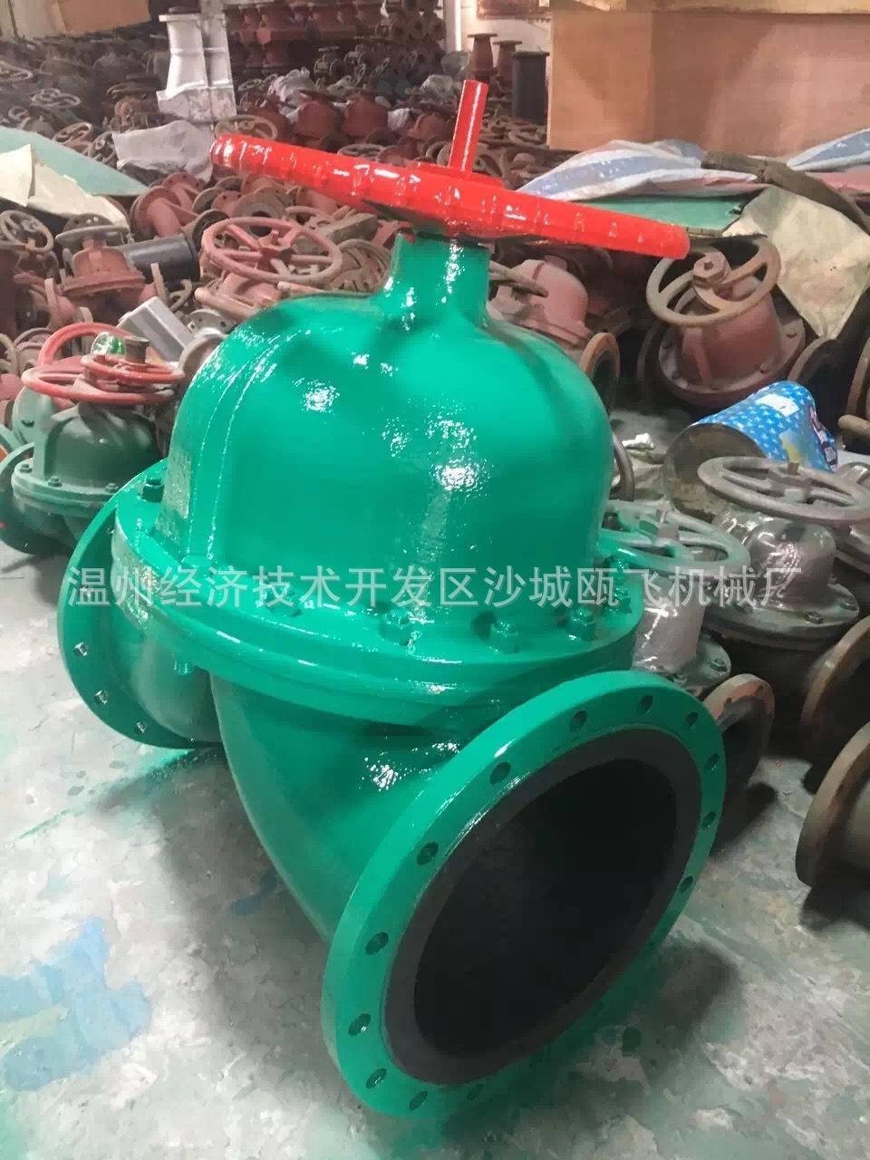 生产dn200衬胶隔膜阀g41j  价格:0元/个 最小采购量:0个 材质:铸钢图片