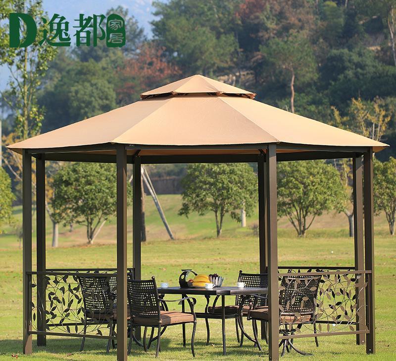 八角篷罗马篷帐篷户外遮阳蓬休闲凉亭花园庭院露天欧式汽车棚雨棚