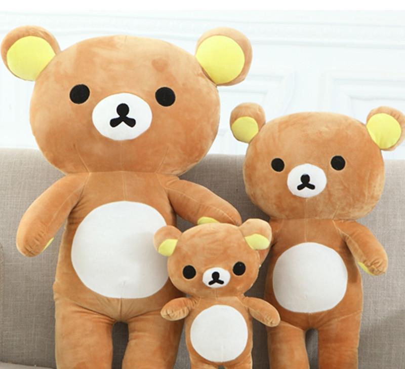 厂家批发供应 可爱卡通熊熊毛绒公仔 毛绒玩具大号熊抱枕生日礼物