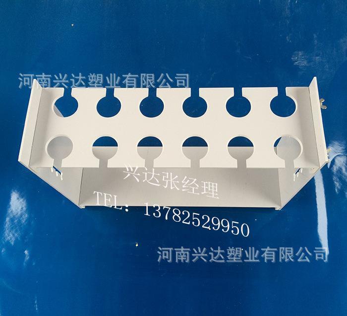 常用规格:单排(4~8孔)双排(4~8孔) 耐酸碱梯形升级式漏斗架按结构分