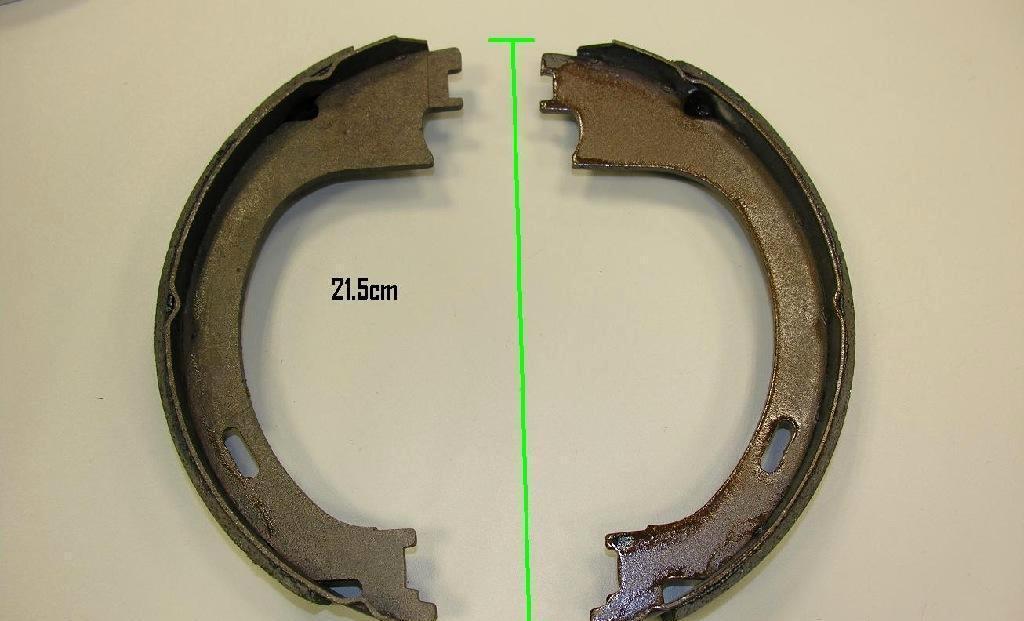 供应盘式,鼓式刹车蹄片(brake shoe)图片