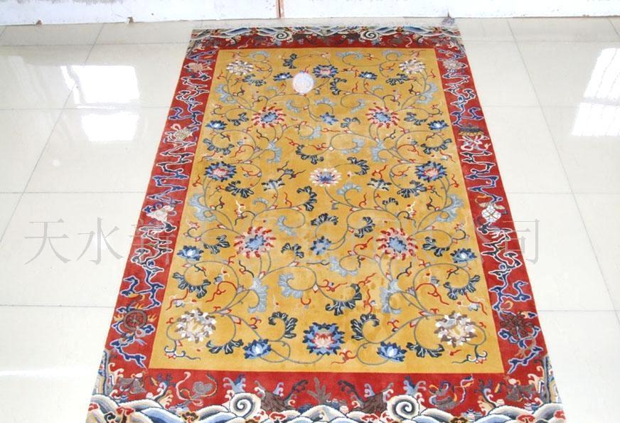 120道手工编织地毯