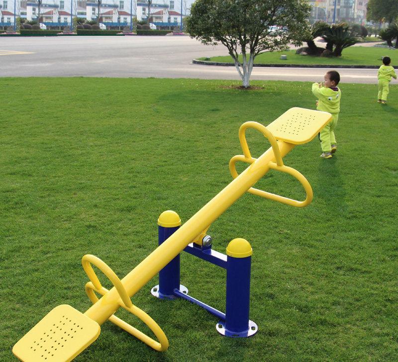 戶外運動路徑廣場小區公園蹺蹺板室外健身器材兒童雙人翹翹板圖片