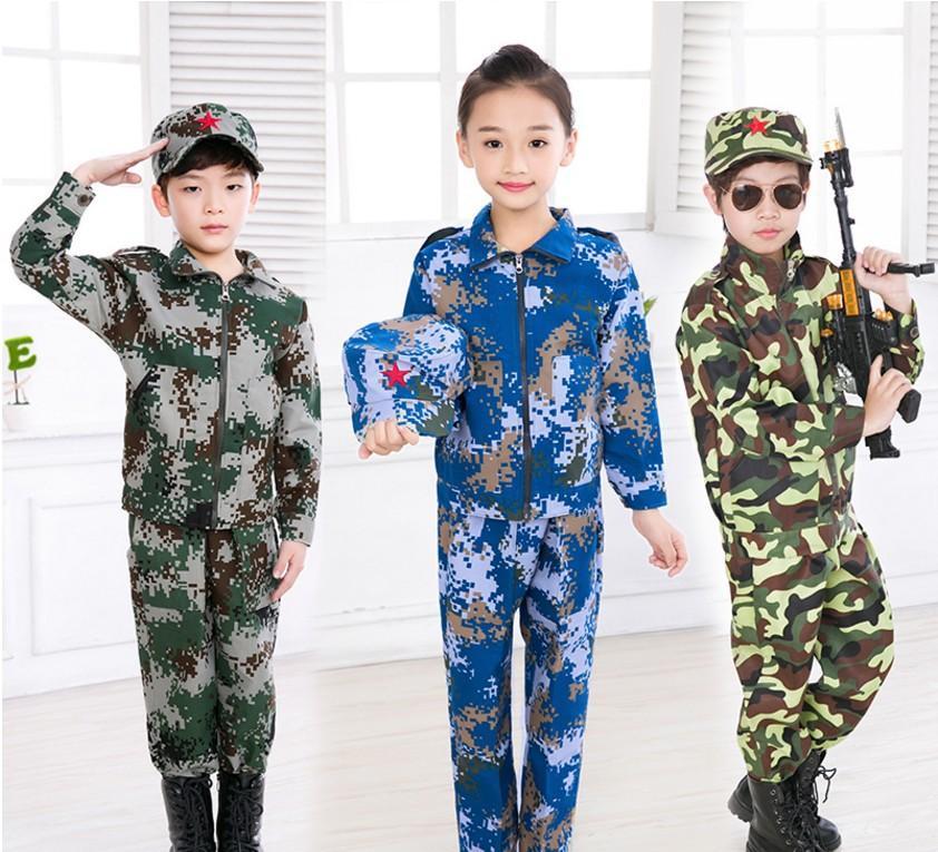 供应信息 舞台服,表演服 儿童迷彩服幼儿园舞蹈演出服男女童中小学生