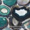批发天然玛瑙片桑拿汗蒸房装饰用玛瑙粒玉石