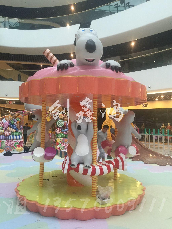 大量供应贝肯熊创意雕塑 儿童游乐园厂家定