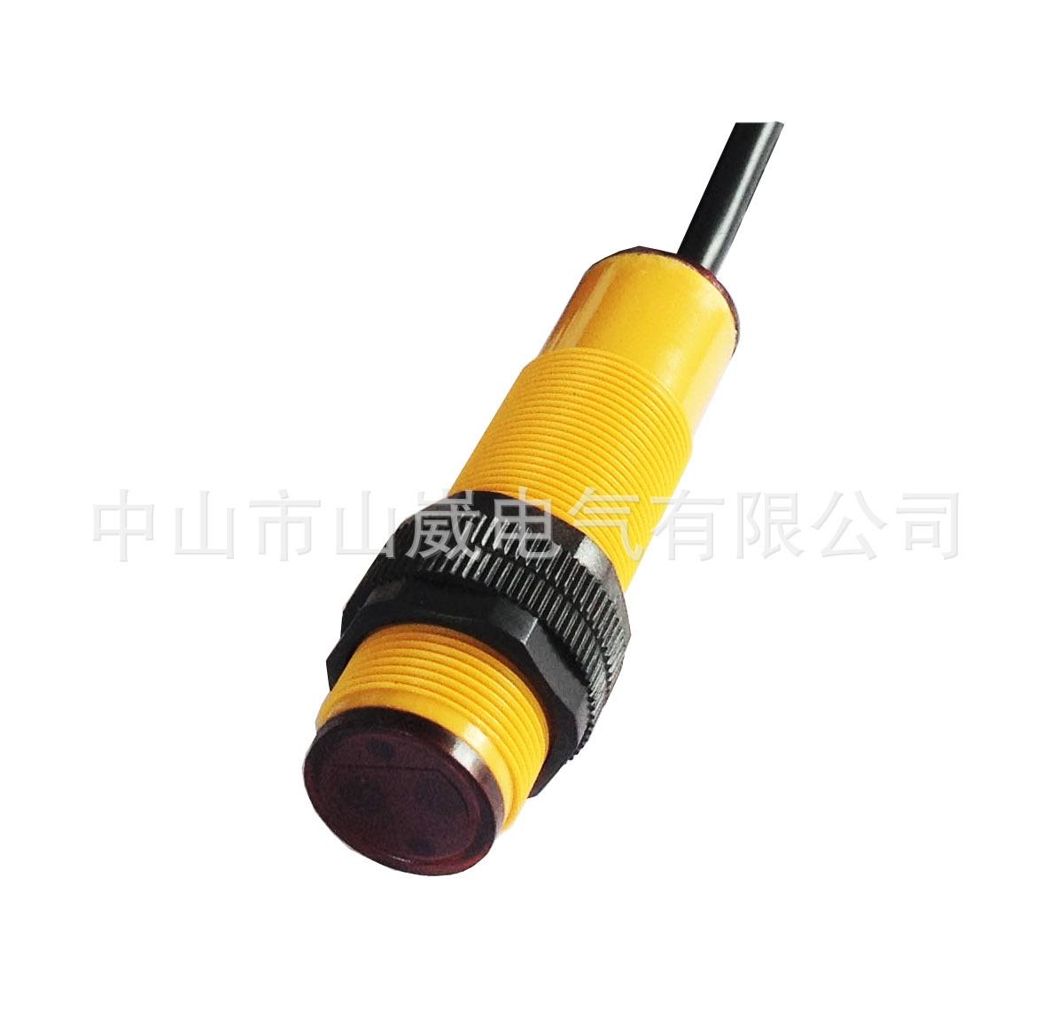 m18漫反射光电开关/红外线感应器npn图片