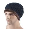 爆款 新款毛线帽秋冬男士 户外贴标保暖加