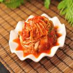 含有丰富的微生物和矿物质的韩国泡菜