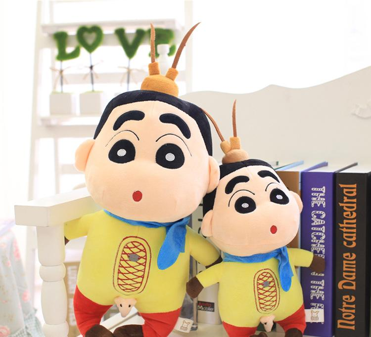 新款毛绒公仔 创意生日礼物 超呆萌可爱大圣版蜡笔小新毛绒玩具