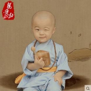 少林寺武术练功服装演出服装书童舞蹈服饰小