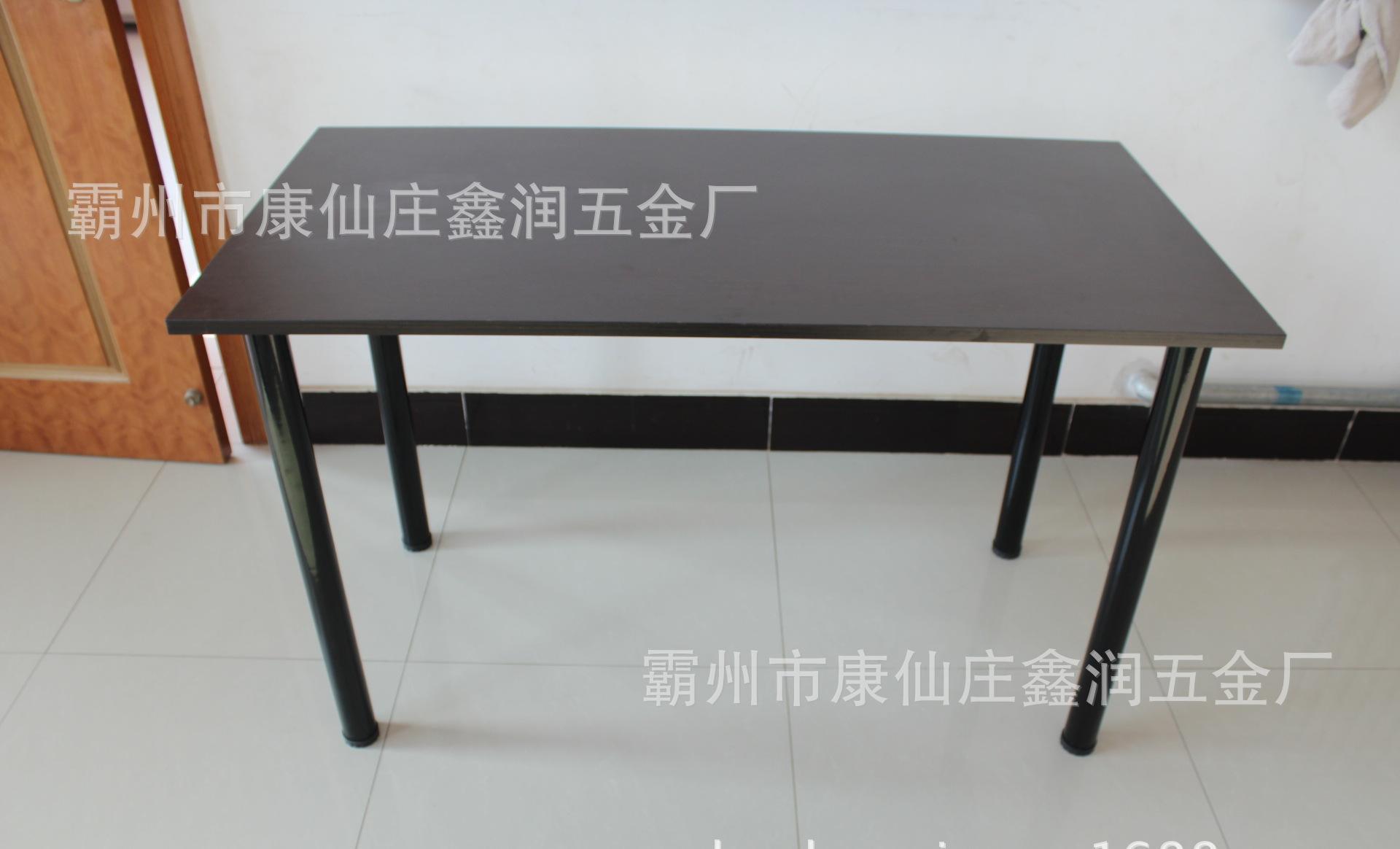 餐饮家具配件钢材桌腿 圆柱形桌脚咖啡桌台脚