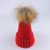 毛球帽子秋冬 韩版保暖女士冬潮大毛球毛线