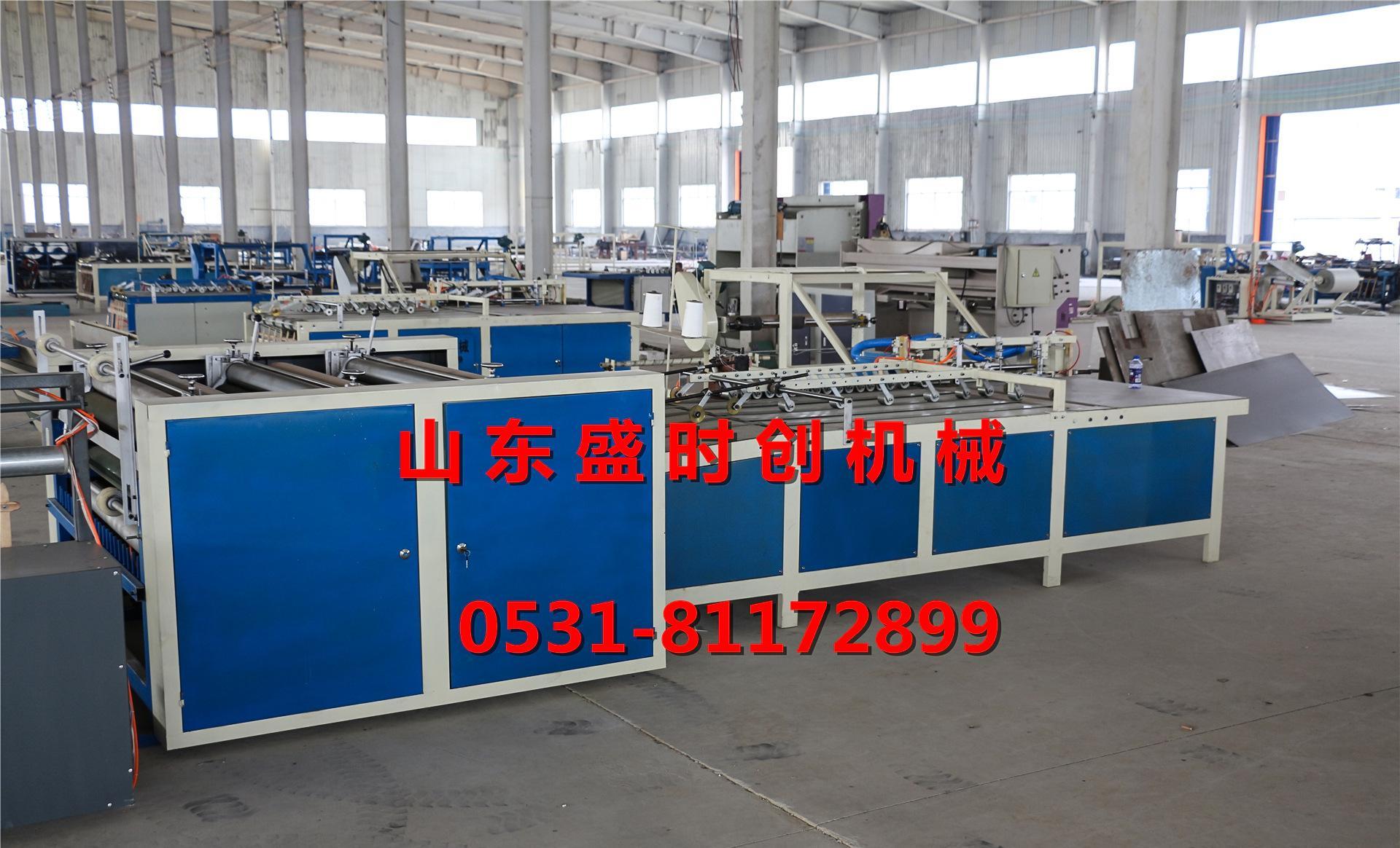 济南编织袋设备编织袋切缝印一体机 塑料编织袋生产设备