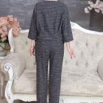中老年女装新款秋装长袖休闲套装妈妈装大码