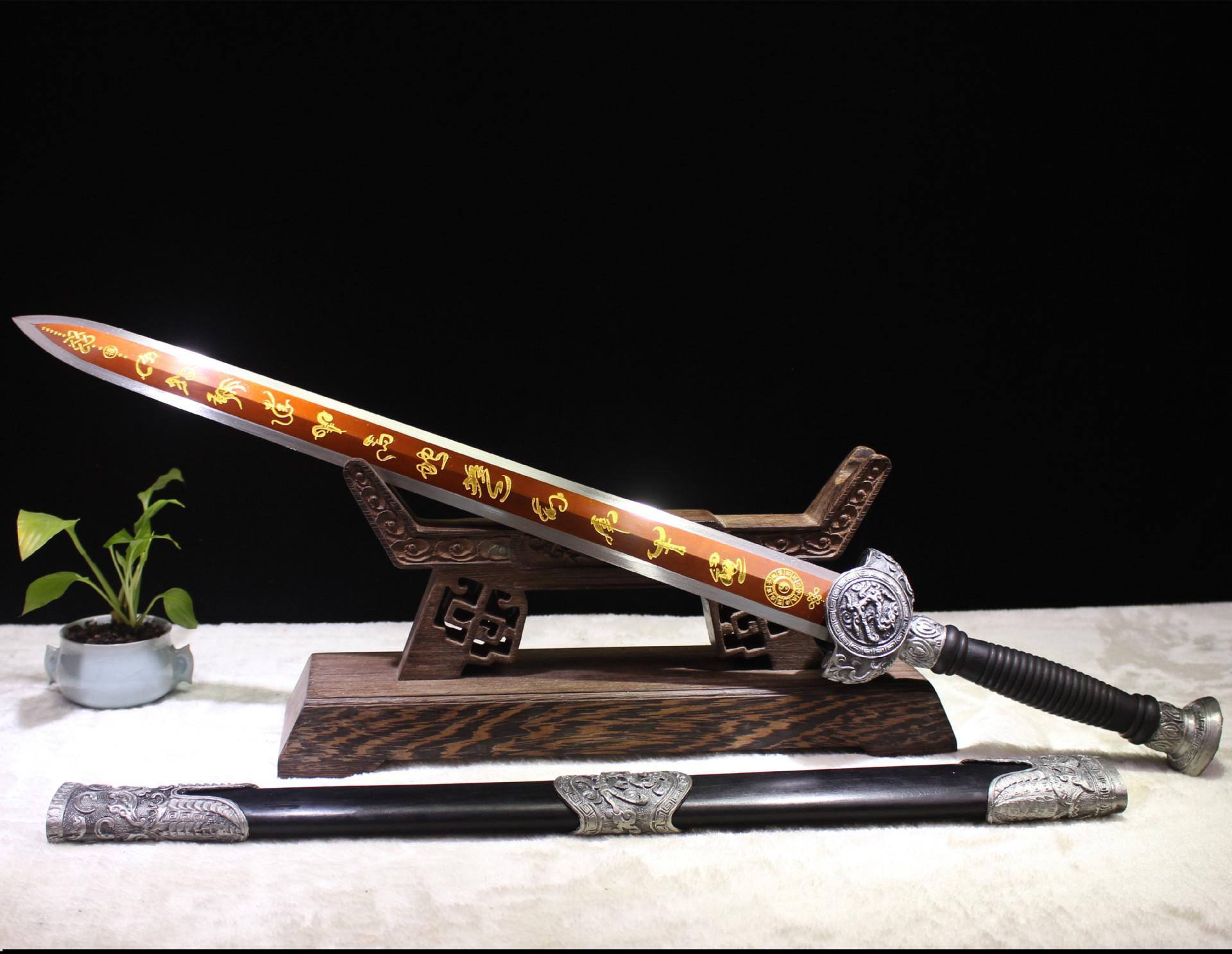 一件代发巨阙宝剑龙泉刀剑辟邪镇宅名剑高锰钢冷兵器长剑未开刃