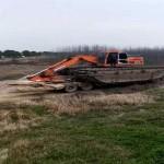 扬州邗江哪里有沼泽地挖掘机租赁