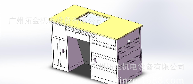 教学多媒体讲桌数字讲桌钢制讲桌讲台木台面讲桌中控电子tk-2145