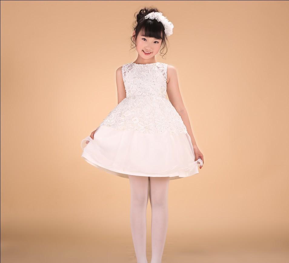 儿童礼服 女童公主裙 影楼摄影 写真童礼服 8898