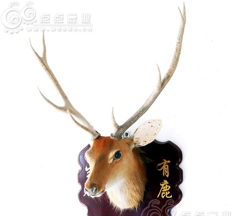 梅花鹿 鹿头挂件装饰品 厂家批发 支持定