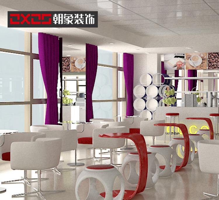 水吧珍珠奶茶店饮品店设计装修 泡沫红茶奶吧柜台设计制作