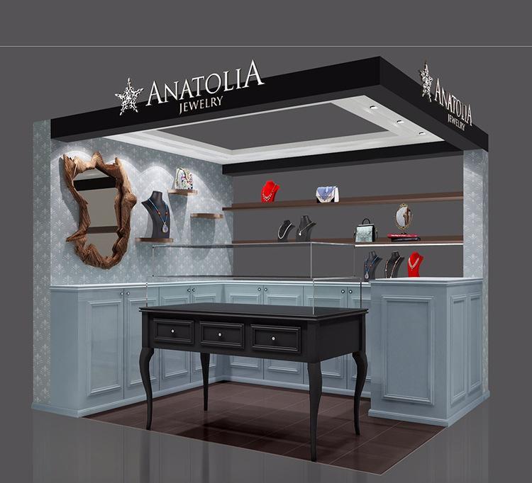 朝象专业装潢设计饰品店创意店面设计3d效果图 优质供应