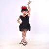 儿童拉丁舞连衣裙新款流苏夏季女童舞蹈服比