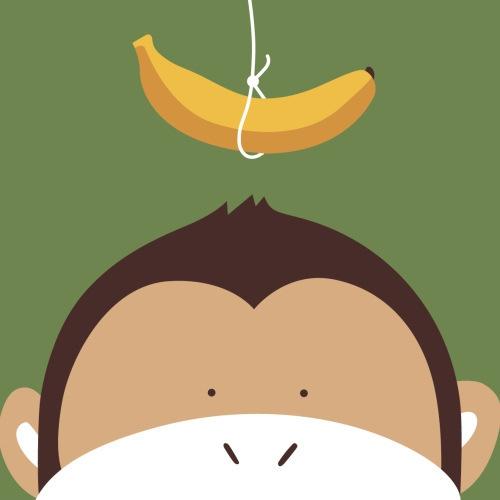 厂家直销 手绘动物猴子数字油画2020