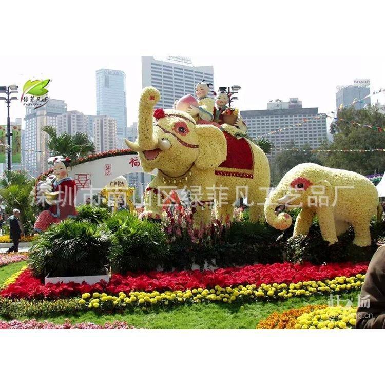 仿真动物园林广场景观雕塑 仿真大象 动物