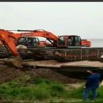 扬州维扬哪里有水上清於挖掘机租赁