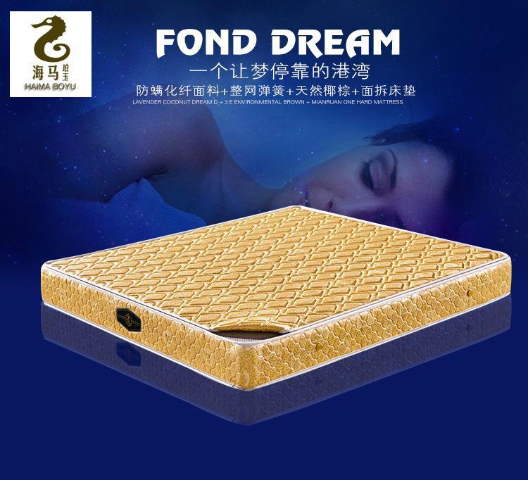 棕垫棕垫床垫 椰棕椰棕海马床垫天然椰棕床垫天然棕床垫厂家直销