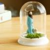 ecoey创意礼品花盆摆件 植物工艺品陶