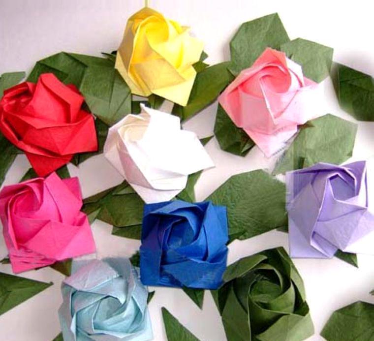 宁波市镇海甬德数字科技有限公司 供应信息 鲜切花 批发彩纸折纸玫瑰
