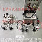 瑞士博瑞达高速硅钢片冲压自动涂油机 冲压材料双面涂油设备
