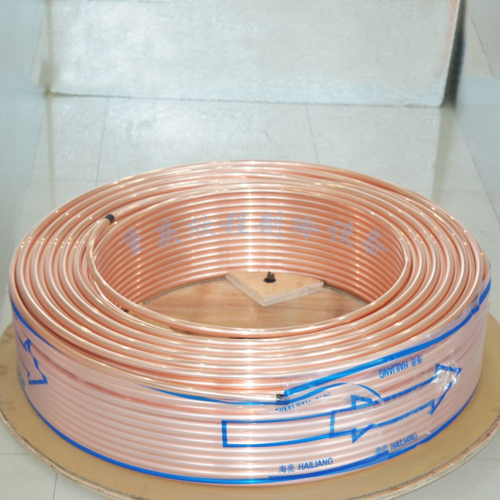 产品价格属性仅供参考,铜管价格变化比较大,详情请咨询客服     制冷用铜管:本公司可生产JISH3300:1997、GB/T17791-2007、ASTM B280标准的制冷用铜管 商品用途:主要用于空调机、主装式空调机组、冰箱、冰柜、太阳能、热水器、壁挂炉等 商品特点:该产品具有内外表面高清洁、超光亮、组织均匀致密、尺寸精度高、换热效率高、易焊接、耐腐蚀、使用成型性好等优点 商品材质:磷脱氧铜(TP2M)