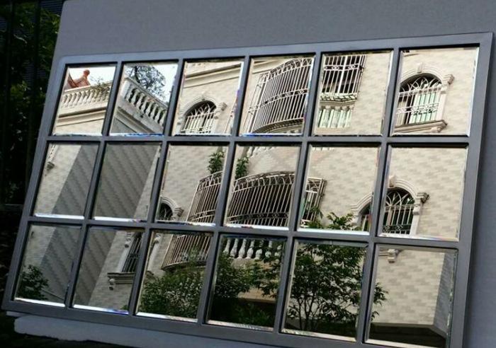 正方铁艺欧式假窗镜框 方格窗户客厅镜框架镜框架