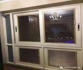 工业贝科利尔80系列铝包木外开窗
