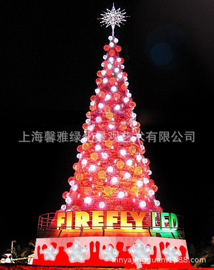 【厂家直销】商场酒店室外圣诞树,圣诞场景