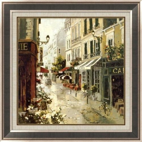 工艺画 装饰画美式现代油画风景帆布微喷双框装裱客  价格:9300元/幅
