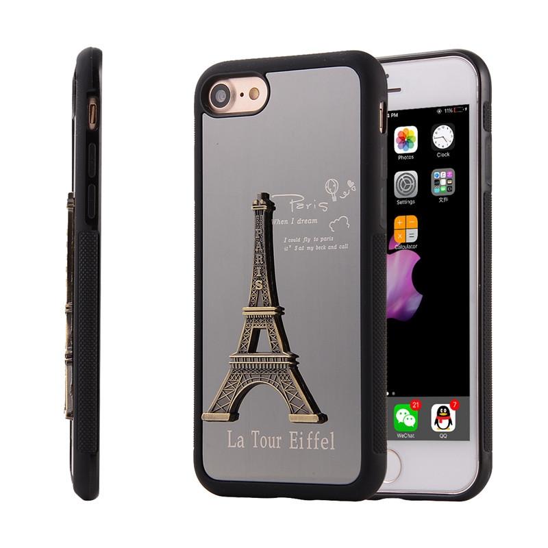 苹果iphone7 手机壳 立体铁塔