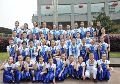 小学生中学生大合唱服装朗诵服 秋季长袖儿