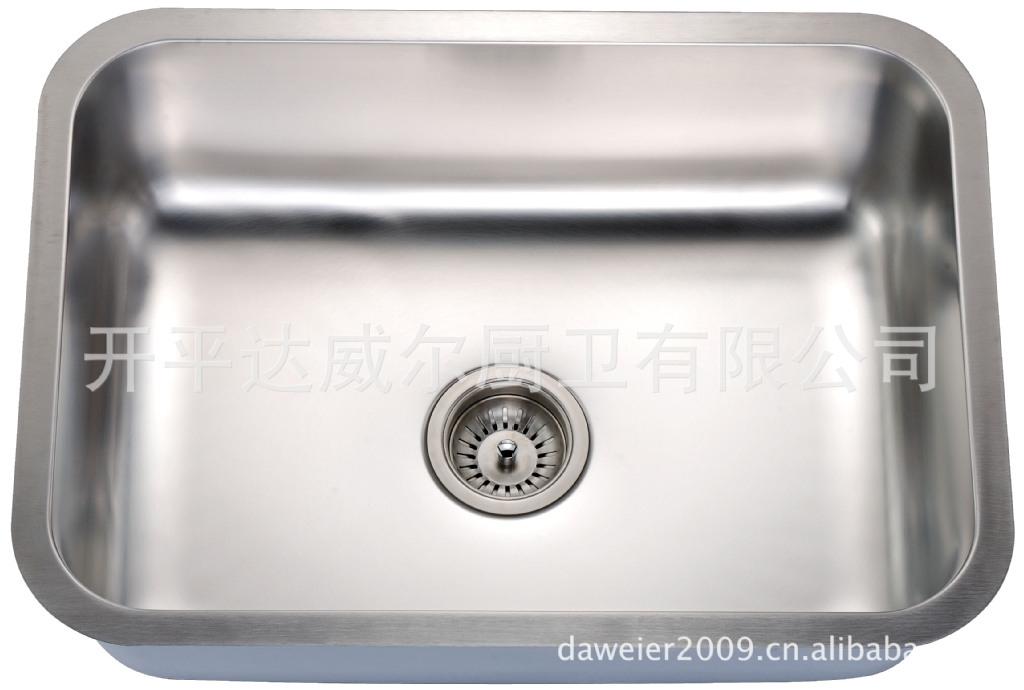 不锈钢水槽单槽尺�_304不锈钢水槽 单槽洗菜盆洗涤槽 北美