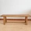 韩国榆木长条凳 实木凳子 木质换鞋凳 原