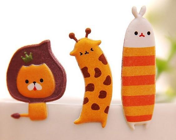 韩版创意贴画儿童可爱小动物立体泡泡贴纸