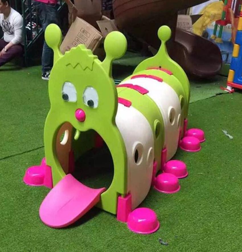 幼儿园毛毛虫小精灵隧道--钻洞--钻爬