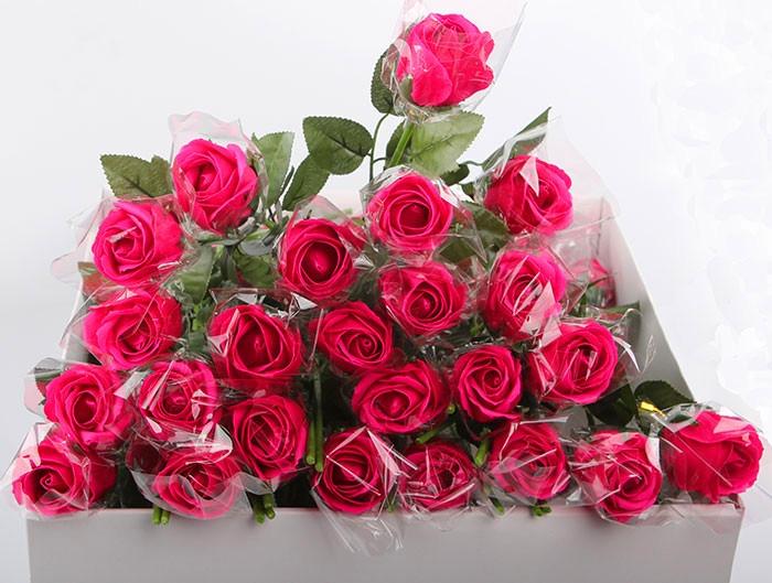 玫瑰纸盒子手工制作