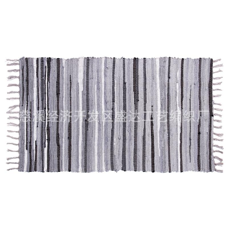供应手工编织地毯 客厅卧室飘窗垫门垫脚垫