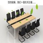 深圳平湖2米2.4米板式會議桌1.2米長