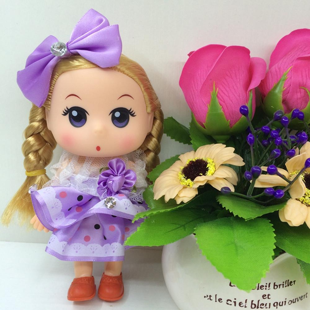 可爱的娃娃钥匙扣冬己迷糊娃娃包包挂件厂价