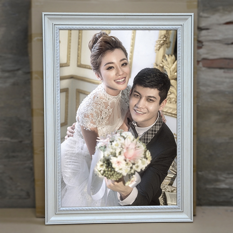 新款 欧式 影楼婚纱照 ps发泡 边条框-相框,相架图片